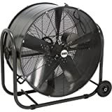 Bannon Tilting Enclosed Motor Belt Drive Drum Fan - 36in., 17,560 CFM