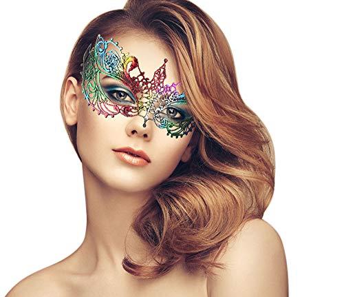 Masquerade Masks Jacksonville Fl (duoduodesign Exquisite Lace Masquerade Mask (Chromatic/Venetian/Soft)