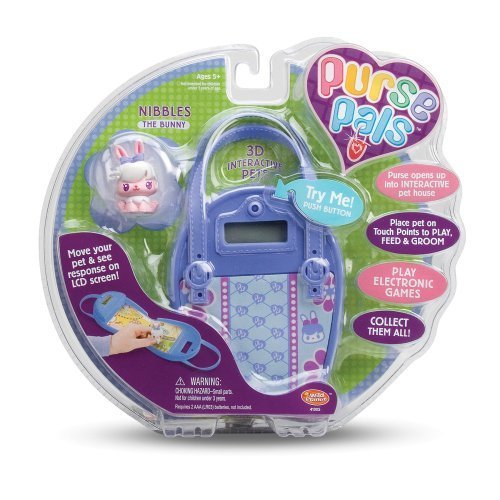 Wild Planet Purse Pals Nibbles the Bunny by Wild Planet Wild Planet Purse Pals