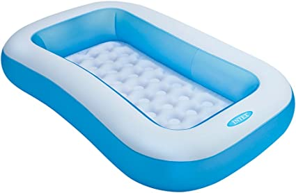 Intex 57403NP - Piscina hinchable rectangular 166 x 100 x 25 cm, 90 litros