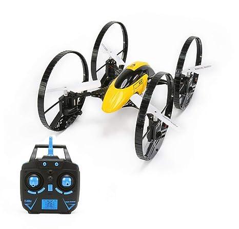 Drone RC de 6 Ejes para Auto Volador de 2,4 GHz 4 CH Land-Sky 2 ...