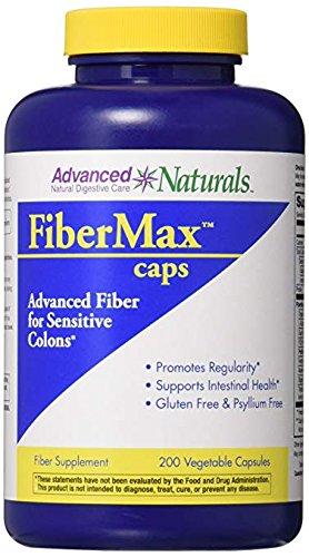 Advanced Naturals Fibermax Caps, 200 Count