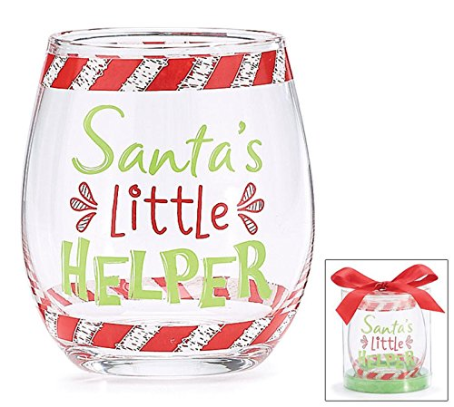 Christmas-Holiday-Stemless-Wine-Glass-Gift-Santas-Little-Helper