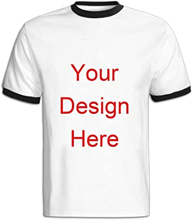 Personalised Mens Unisex Funny Ringer Birthday TShirt Made In Gifts Presents
