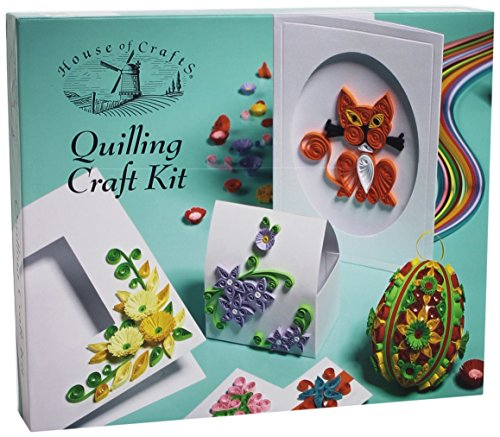 H Of C Quilling Craft Kit by House of Crafts