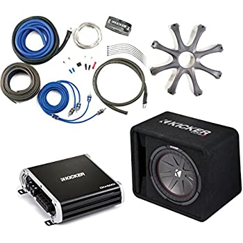 Amazon.com: Kicker 43VCWR122 Comp R ported enclosure w