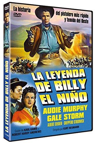 La Leyenda de Billy el Niño -- The Kid from Texas -- Spanish Release