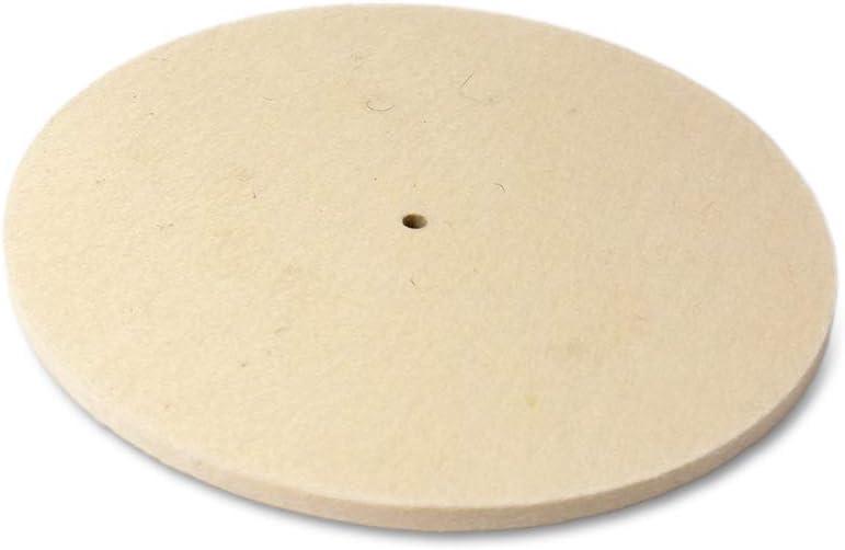 : 150 mm Disque de polissage en feutre The Felt Store diam /épaisseur : 20 mm