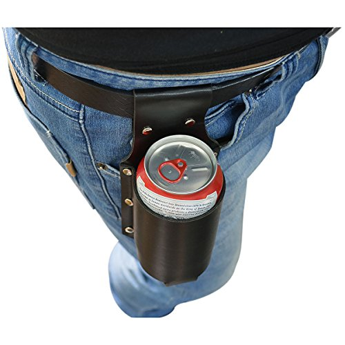 Vi PU Leather Beer Holster for 12 Ounce