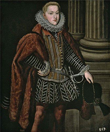 Oil Painting 'Gonzalez Bartolome El Archiduque Leopoldo Cunado De Felipe III 1608 17 ' Printing On Perfect Effect Canvas , 30 X 36 Inch / 76 X 91 Cm ,the ()