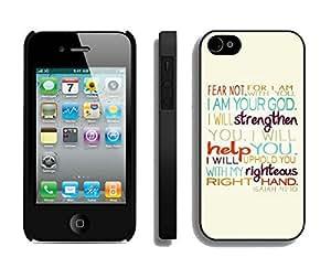 BINGO Vintage Bible Verse iPhone 4 4S Case Black Cover