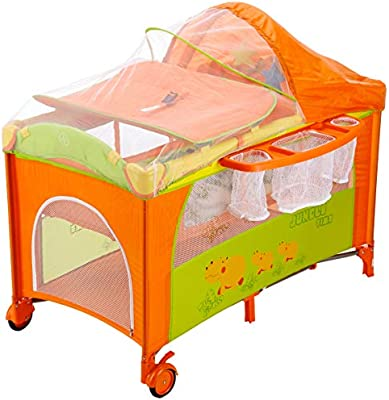Milly Mally 0172/Viaje Cama Infantil Mirage Deluxe Gris