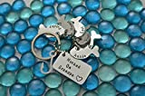 Personalized Keychain, Cyber Monday Sale, Stocking stuffers for men, Gifts for dad, Fishing