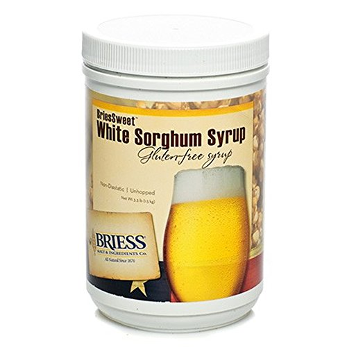 BriessSweet White Sorghum Gluten -Free Syrup, 3.3 lb.