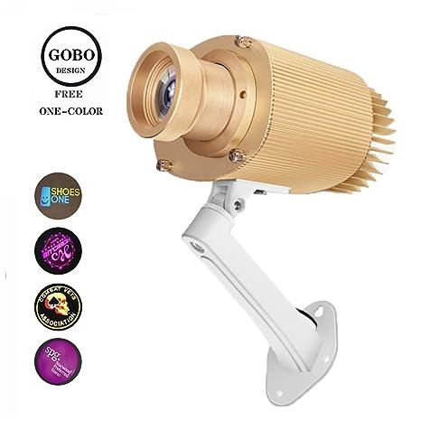 LED Gobo Lobo proyector patrón 20W etapa proyector de iluminación ...