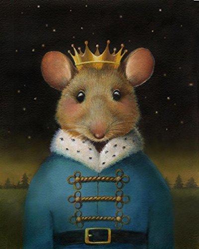 Mouse King Print - Nutcracker Art - Christmas Mouse - Mouse
