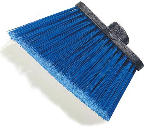 Carlisle 3686714 Duo-Sweep Medium Duty Flagged Angle Broom Head, Polypropylene Bristle, 8'' Overall Length x 12'' Width, Blue (Pack of 12) by Carlisle (Image #7)