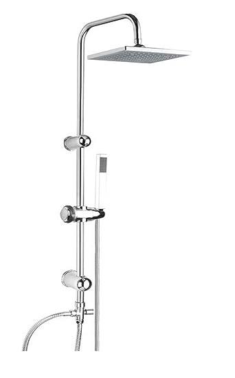 regendusche set duschset ohne duscharmatur mischbatterie handbrause duschbrause wellness duschsule duschpaneel - Regendusche Set