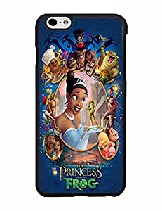 Shock Absorbent Disney The Princess And The Frog Funda Case For IPhone 6 6s Plus Funda Case (5.5 inch) Hard Plastic Back Shell Drop Protection