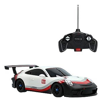Rastar - Coche radiocontrol Porsche 911 GT3 CUP, escala 1:18 (ColorBaby 41264