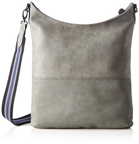 s.Oliver (Bags) Shoulder Bag - Shoppers y bolsos de hombro Mujer Gris (Middle Grey)