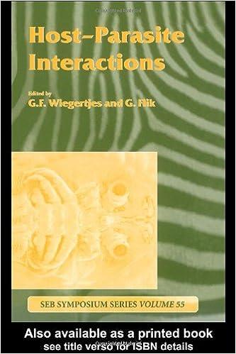 Kindle e-bøger gratis: Host-Parasite Interactions (Society for Experimental Biology) PDF