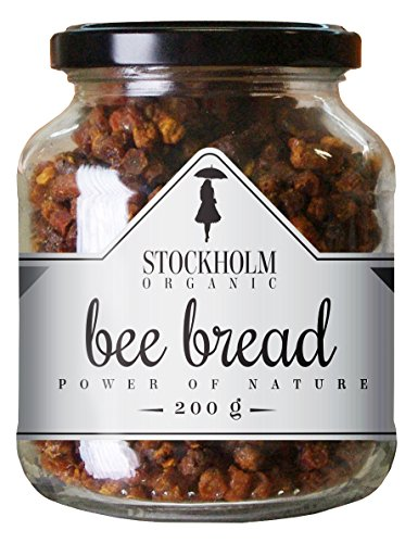 100% natural Bee bread from wild Estonian meadows, 200 g by Stockholm Organic