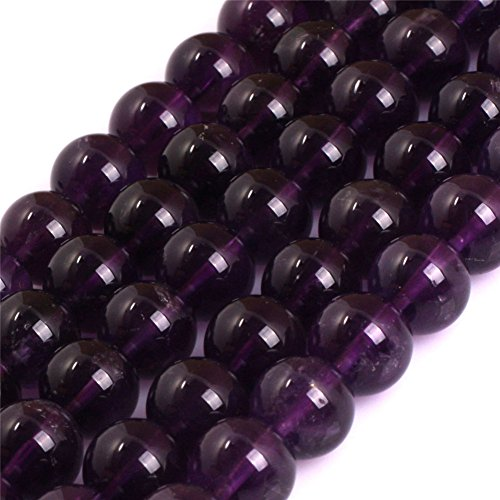 Joe Foreman Amethyst Beads for Jewelry Making Genuine