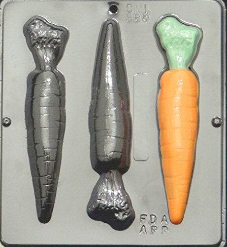 Carrots Candy Mold - Carrots Carrot Chocolate Candy Mold Easter 886