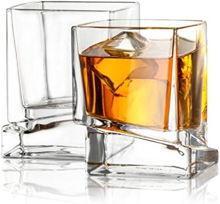 JoyJolt Glasses Fashioned 10 Ounce Glassware product image