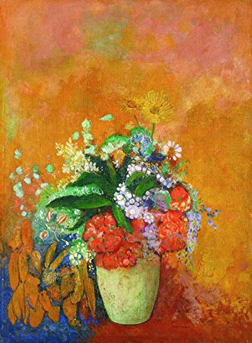 Oil painting 'Odilon Redon-Gift of Roberta Holden Bole,1905'