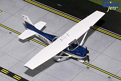 GeminiJets Gemini General Aviation GGCES007 Cessna 172 Skyhawk Diecast Model Sportys Flight School, N1215A # GGCES007