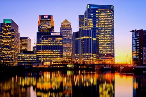 (London Canary Wharf Art Picture Poster Photo Print Canvas Prints Wall Art Home Decor - 16