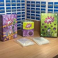 Tranjis games Set Completo Virus + Expansión (Virus 2) + Deckbox + 120 Fundas: Amazon.es: Juguetes y juegos