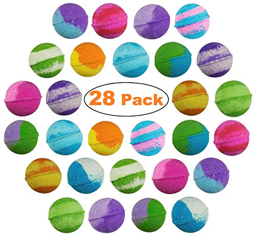 28 pack USA Vegan Bath Bombs kit -