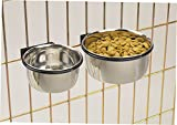 ProSelect 8-Ounce Stainless Steel Coop Cups for Pet