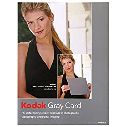 Kodak Gray Cards (Black and White Photography)