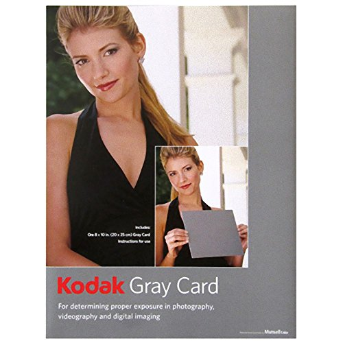 KODAK Gray Cards (Black and White Photography) (Kodak Gray Card)