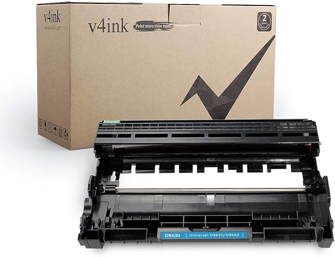 5 PK 1 DR630 Drum 4 TN660 Toner For Brother DR660 HL-L2300D L2340DW MFC-2740DW