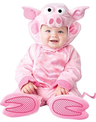 Fun World Baby's Precious Piggy Costume, Pink S ()