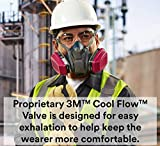 3M Rugged Comfort Quick Latch Half Facepiece