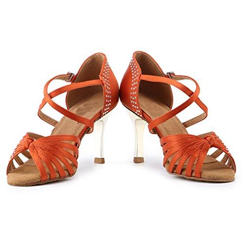 Miyoopark MiyooparkUK-HW180305, Damen Tanzschuhe Brown-7.5cm Heel