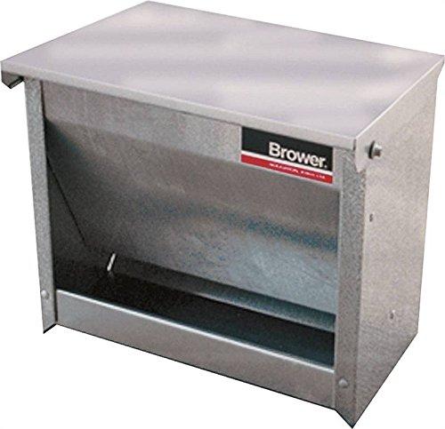 Brower 1CF Galvanized Steel Small Animal Feeder
