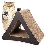 Cheap Homdox 3-Sided Cat Scratching Post Cat scratchers Vertical Corrugated Cardboard Cat Toy