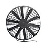"Spal 30100400 16"" Straight Blade Low Profile Fan"