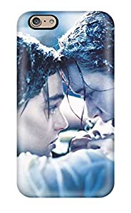 Fashion Case Aarooyner Scratch-free cell phone case cover For Iphone 6 plus- Retail Packaging - Titanic JzBASCWvg0g The Final Moment