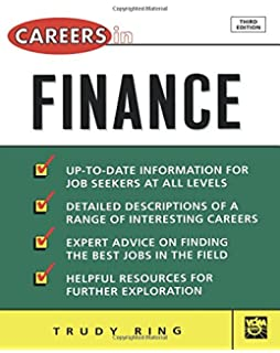 Career Opportunities in Banking, Finance, and Insurance: Thomas P