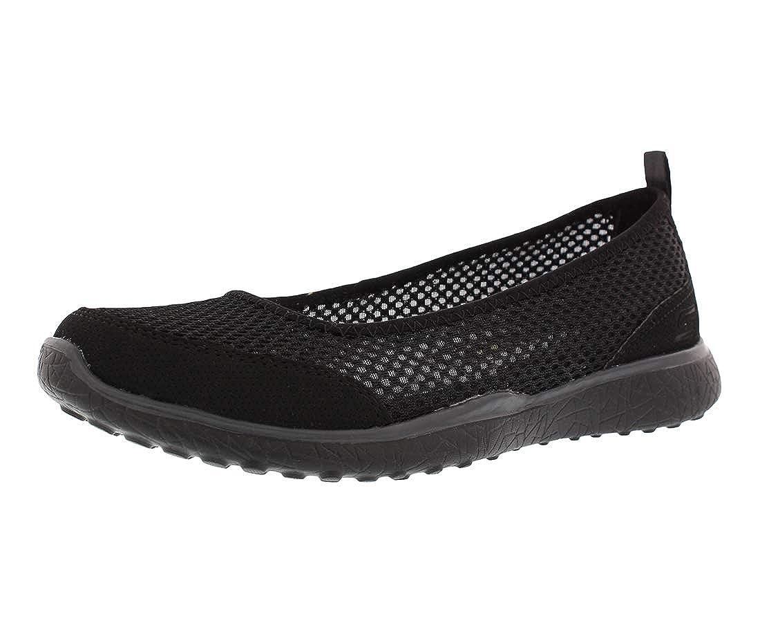 Womens Slip On Skimmer Sneakers Black
