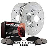 Power Stop K6975 Front Z23 Evolution Brake Kit with Drilled/Slotted Rotors and Ceramic Brake Pads, 1 Pack