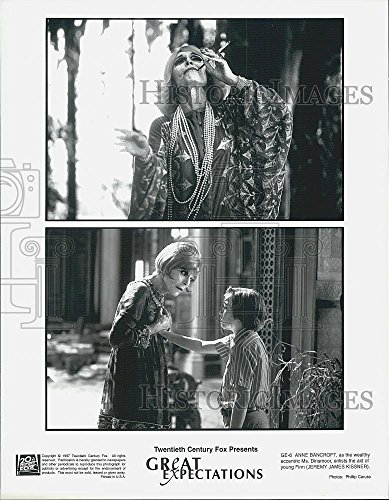 "1997 Also pressurize Photo Jeremy James Kissner, Anne Bancroft ""Great Expectations"""